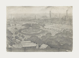 Bandstand, Peel Park , Salford, 1925 Premium Giclee Print by Laurence Stephen Lowry
