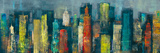 City Towers II Posters par Georges Generali