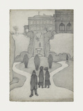 The Steps, Peel Park, Salford, 1930 Premium Giclee Print by Laurence Stephen Lowry
