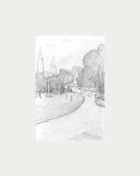 Peel Park Sketch, 1919 Premium Giclee Print by Laurence Stephen Lowry