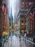 Wall Street Plakater af Guy Dessapt