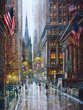 Wall Street Prints by Guy Dessapt