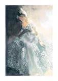 White Aubretia Prints by Sharon Pinsker