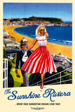 Sunshine Riviera Posters por The Vintage Collection