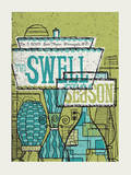 The Swell Season - Lamps Serigraph by  Methane Studios