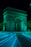 Paris by Night II Poster by Joseph Eta