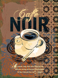 Cafe Noir Posters by Ken Hurd
