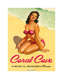 Coral Cove Prints by  The Vintage Collection