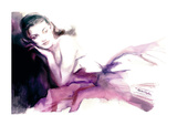 Christina Print by Sharon Pinsker