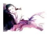 Christina Print by Sharon Pinsker