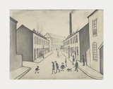 North James Henry Street, Salford, 1956 Premium Giclee Print by Laurence Stephen Lowry