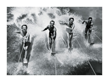 Water Ski Splash Print by  The Chelsea Collection