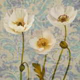 Damask Blooms V Art by Tania Bello