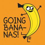 Going Bananas! Kunstdruck von Todd Goldman