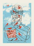 Blitzen Trapper - Truth Serigraph by  Methane Studios