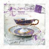 Morning Tea III Kunst von Ingrid Van Den Brand