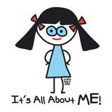 All about ME! Kunstdrucke von Todd Goldman