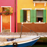 Burano V Art by Chris Simpson