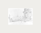 Peel Park Sketch I, 1920 Premium Giclee Print by Laurence Stephen Lowry