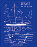 Yacht Design Posters by  The Vintage Collection