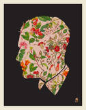 Floral Man Serigraph by  Methane Studios