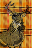 Plaid Stag Posters by Ingrid Van Den Brand