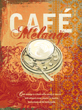 Cafe Melange Prints by Ken Hurd