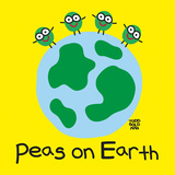 Peas On Earth Plakat av Todd Goldman