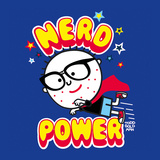 Nerd Power Poster by Todd Goldman
