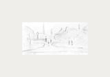 Peel Park Sketch III, 1920 Premium Giclee Print by Laurence Stephen Lowry