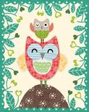 Folksy Friends I Affiche par Clara Wells