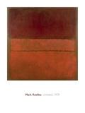 無題, 1959 高品質プリント : マーク・ロスコ