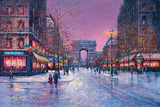 Arc de Triomphe Poster by Guy Dessapt