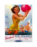 Summer Holiday I Póster por  The Vintage Collection