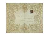 Valentine Envelope Mailed at Potsdam, New York, February 8 (Year Unknown), National Postal Museum Giclee Print