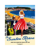 Sunshine Riviera Prints by  The Vintage Collection