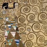 Attesia Print by Gustav Klimt