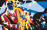 Saxo Flash Prints by Ray Lengele