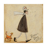 Rovers Day Out Giclee Print by Sam Toft