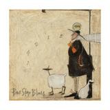 Bus Stop Blues Giclée-Druck von Sam Toft