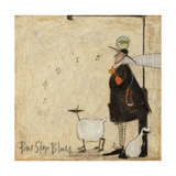 Bus Stop Blues Giclee Print by Sam Toft