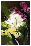 Flower Field 2 Art by Nathalie Poulin