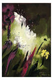 Flower Field 1 Posters by Nathalie Poulin