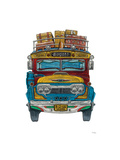 Colombian Bus Giclee Print by Barry Goodman