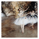 Ballet Dancer 2 Poster by Edgar Degas