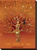 The Tree of Life Pastiche Brule Płótno naciągnięte na blejtram - reprodukcja