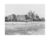 Hotels, Atlantic City, NJ Giclee Print