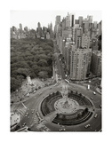 Columbus Circle Giclee Print by Christopher Bliss