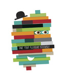 Take Your Pleasure Seriously Giclee Print by Anthony Peters