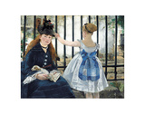 The Railway, 1873 Giclee Print by Édouard Manet